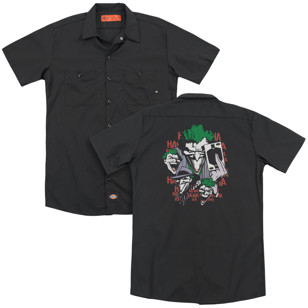 Dc Four Of A Kind Adult Work Shirt