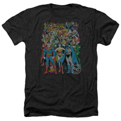 Dc Original Universe Adult Regular Fit Heather T-Shirt