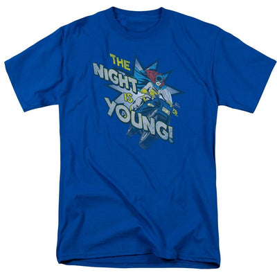 DC Comics The Night Is Young Men's Regular Fit T-Shirt