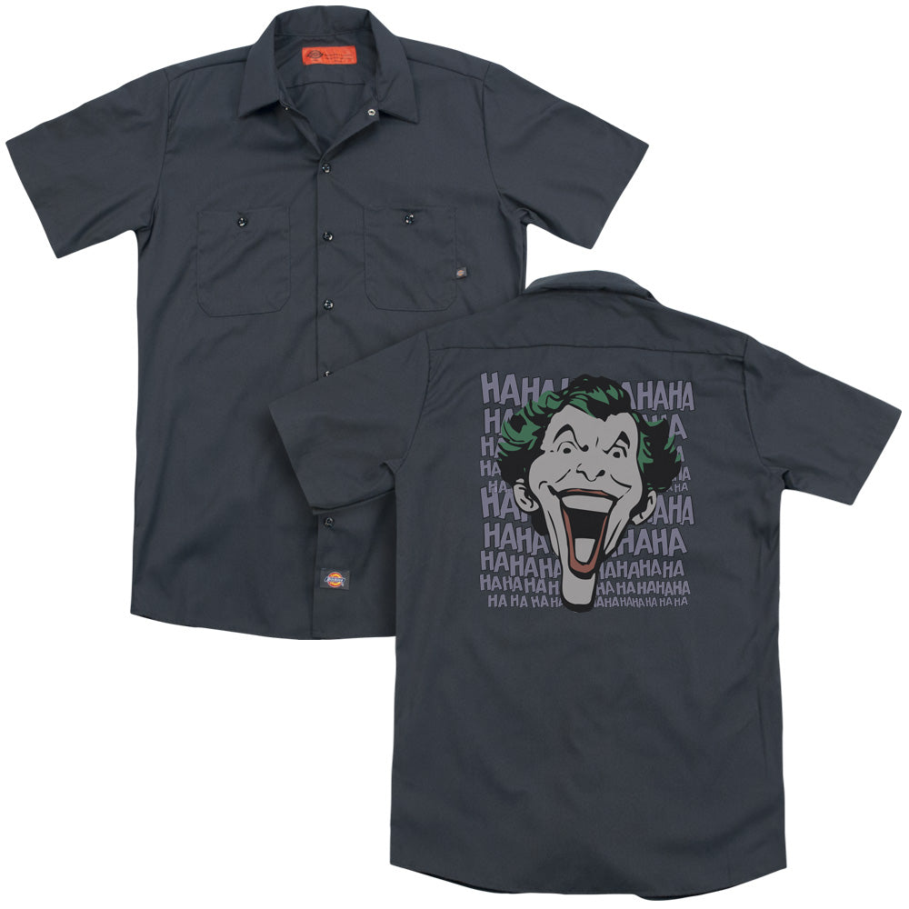 Dc Dastardly Merriment Adult Work Shirt