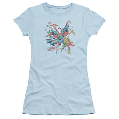 DC Comics Lead The Charge Juniors T-Shirt