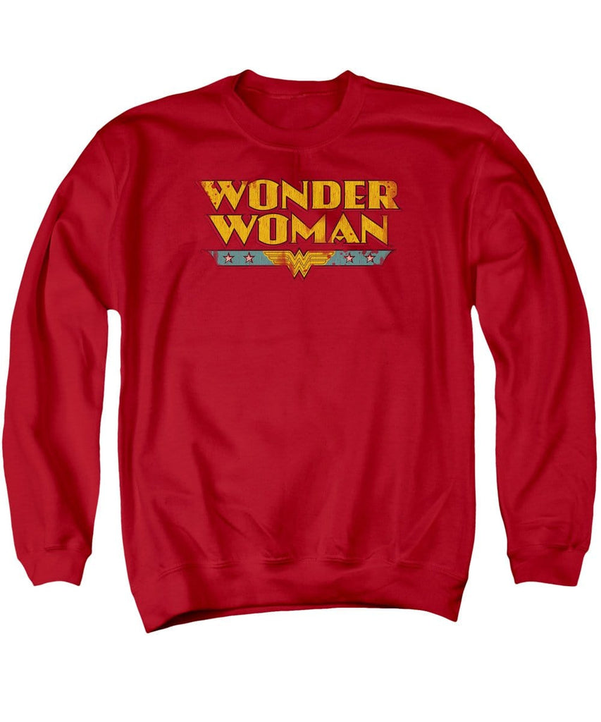 Dc - Wonder Woman Logo Adult Crewneck Sweatshirt