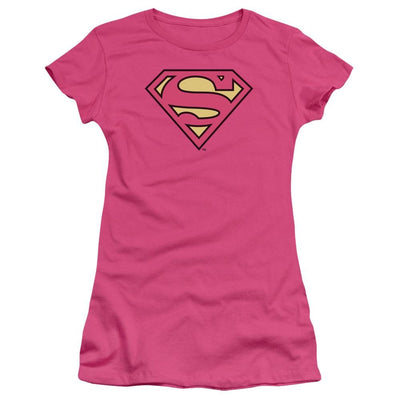 DC Comics Superman Classic Logo Juniors T-Shirt
