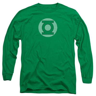 DC Comics Gl Little Logos Men's Long Sleeve T-Shirt