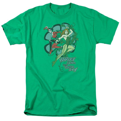DC Comics Harley And Ivy Men's Regular Fit T-Shirt