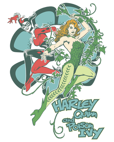 DC Comics Harley And Ivy Men's Long Sleeve T-Shirt