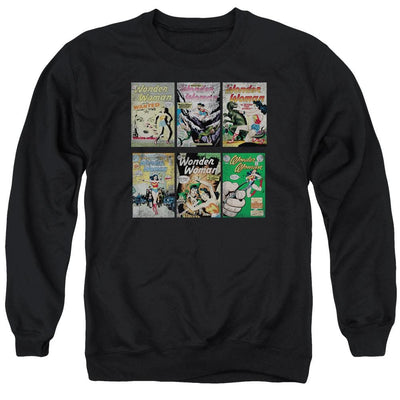 DC Comics Ww Covers Men's Crewneck Sweatshirt
