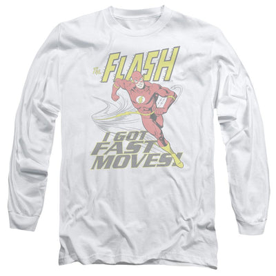 The Flash Fast Moves Men's Long Sleeve T-Shirt