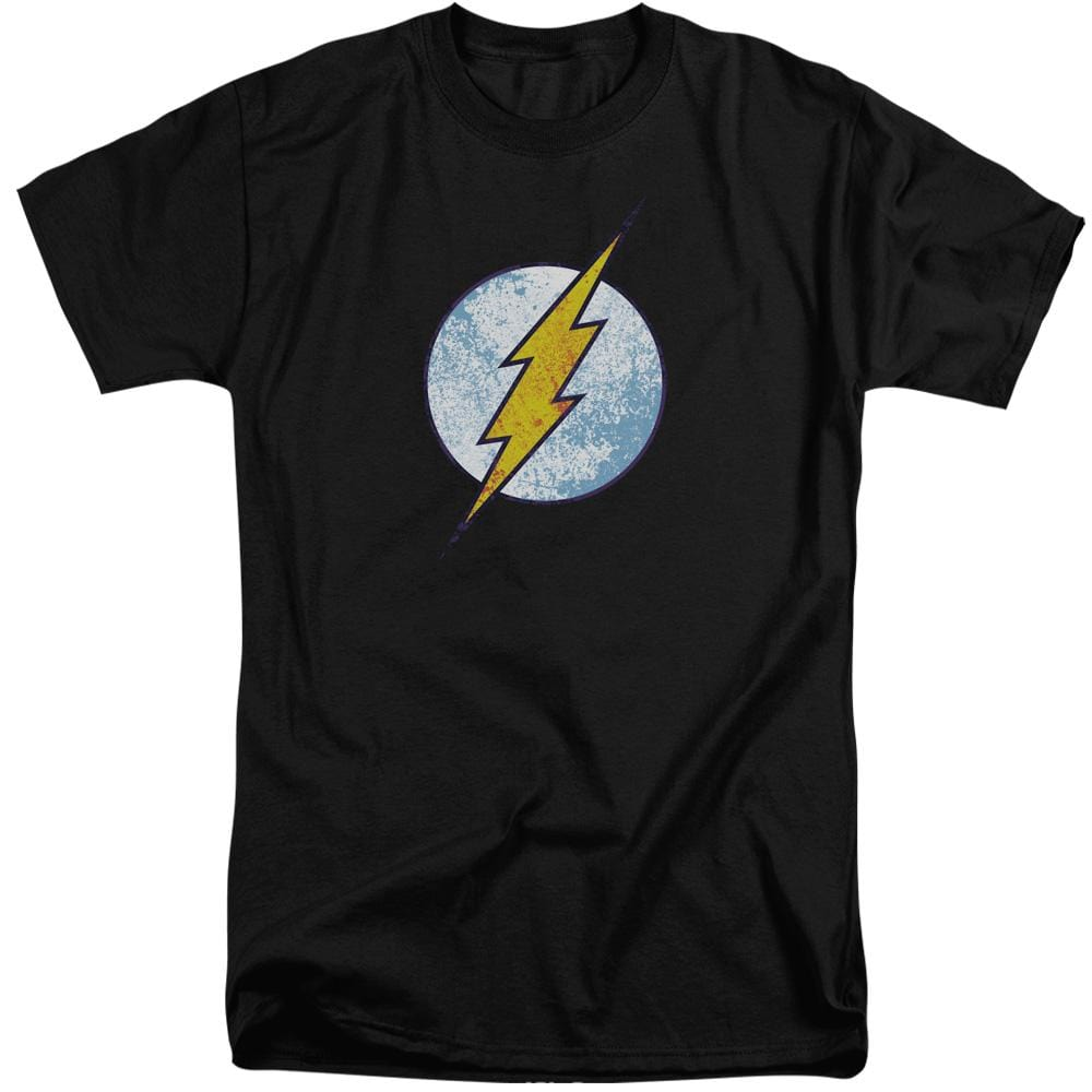 Dco Flash Neon Distress Logo Adult Tri-Blend T-Shirt