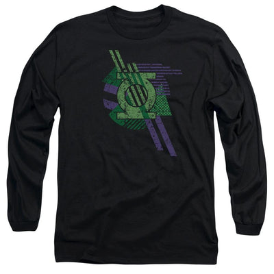 DC Comics Lantern Shapes Men's Long Sleeve T-Shirt