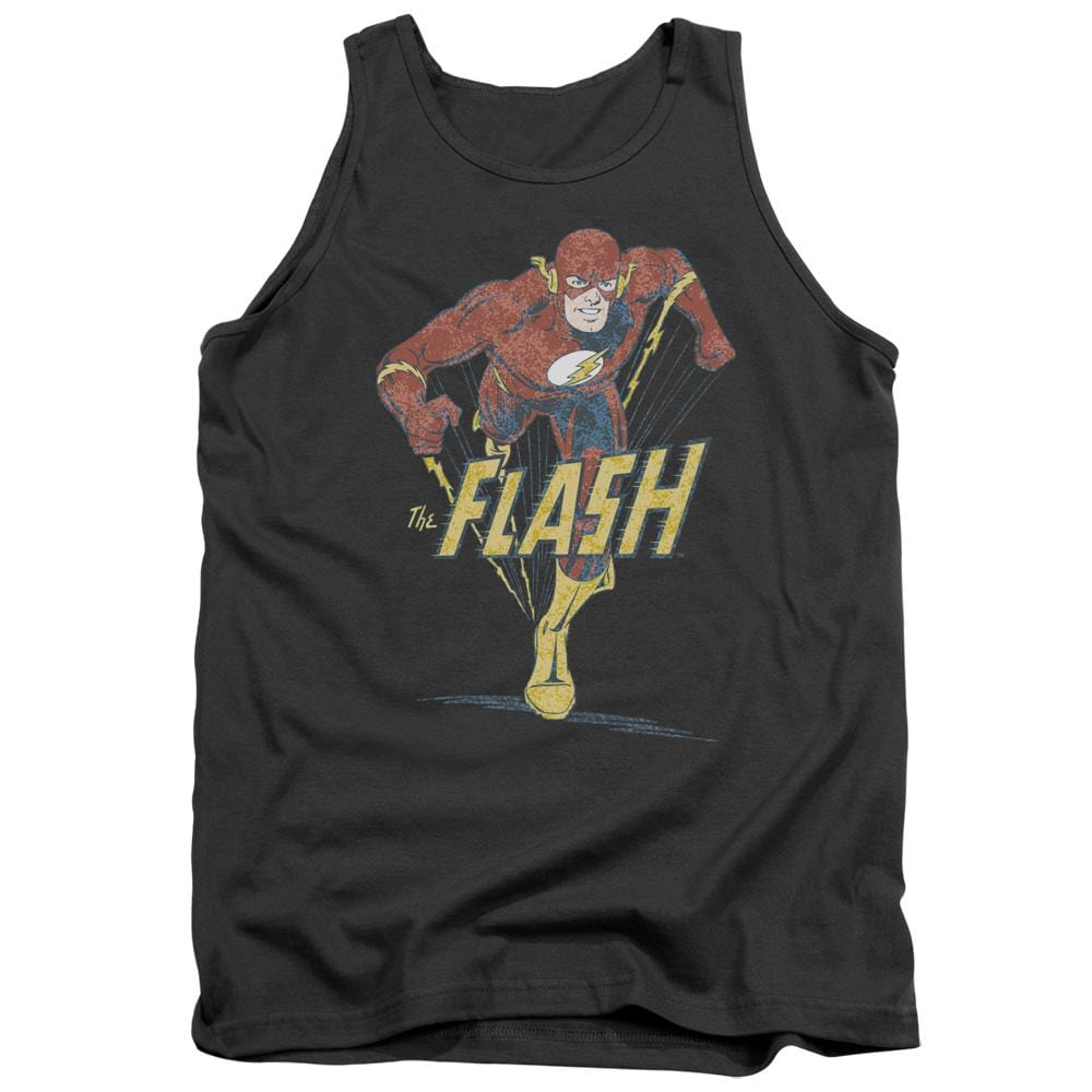 Dco Desaturated Flash Adult Tank Top