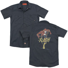 Dco Desaturated Flash Adult Work Shirt