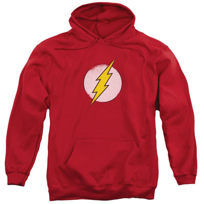 The Flash Rough Flash Logo Pullover Hoodie
