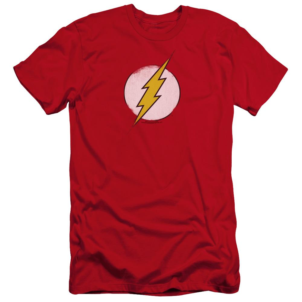 Dco Rough Flash Logo Premium Adult Slim Fit T-Shirt