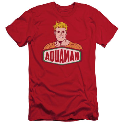 DC Comics Aquaman Sign Men's Slim Fit T-Shirt