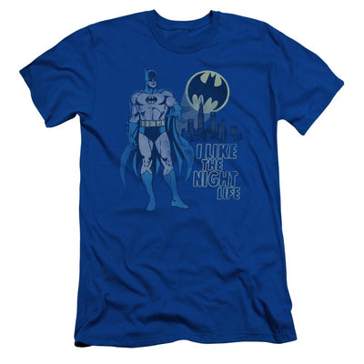 DC Comics Night Life Men's Slim Fit T-Shirt