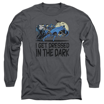 DC Comics Get Dressed Men's Long Sleeve T-Shirt