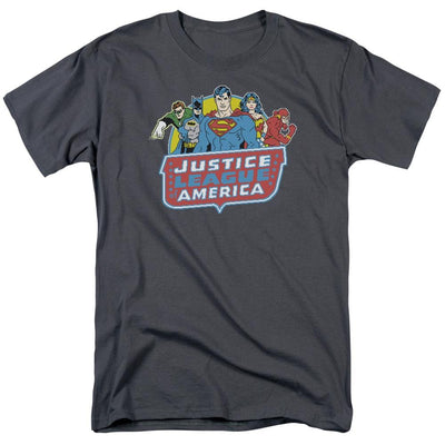 DC Comics 8 Bit League Men's Regular Fit T-Shirt