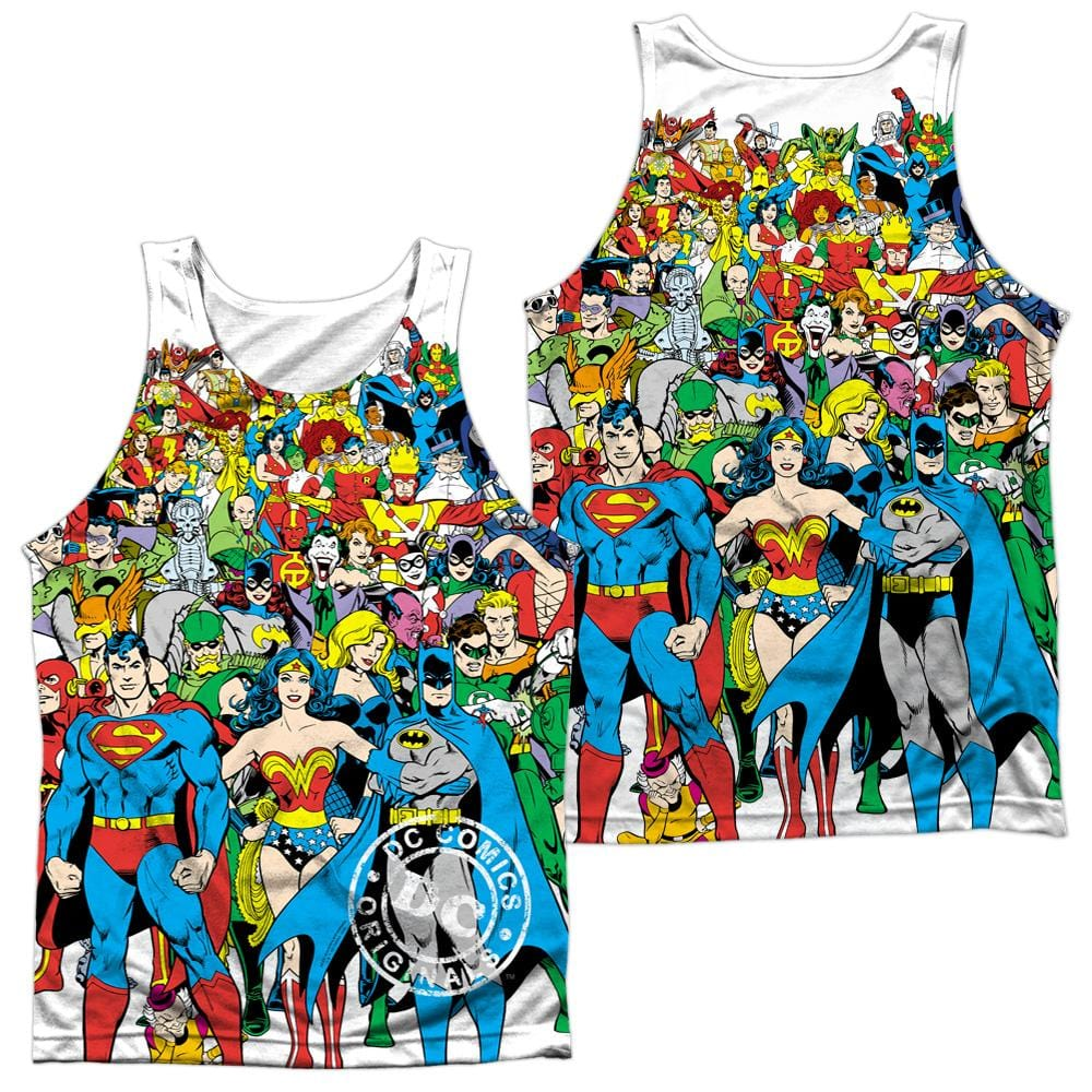 Dc Original Universe Adult Tank Top