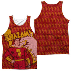 Dc Shazam Bolts Adult Tank Top