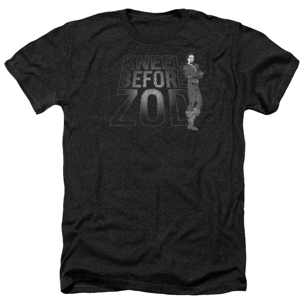 Dc Kneel Zod Adult Regular Fit Heather T-Shirt
