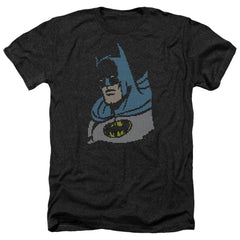 Dc Lite Brite Batman Adult Regular Fit Heather T-Shirt