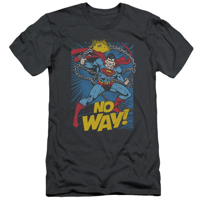 DC Comics No Way Men's Slim Fit T-Shirt