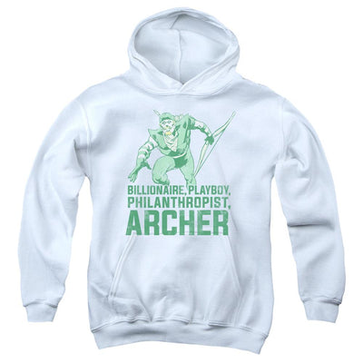DC Comics Archer Youth Hoodie (Ages 8-12)