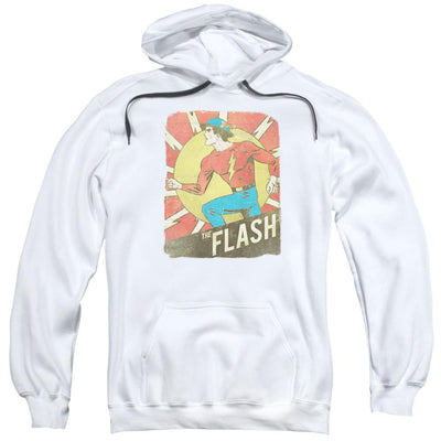 The Flash Tattered Poster Pullover Hoodie