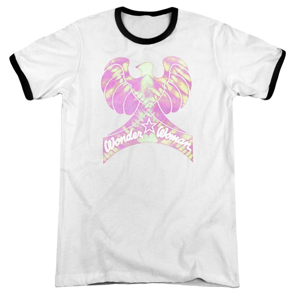 Dc - Wonder Bird Adult Ringer T- Shirt