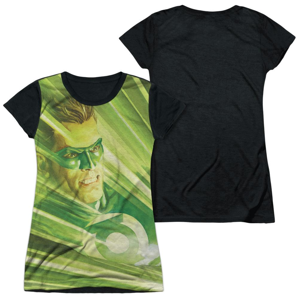 DC Comics - Rays Of Light Junior All Over Print 100% Poly T-Shirt