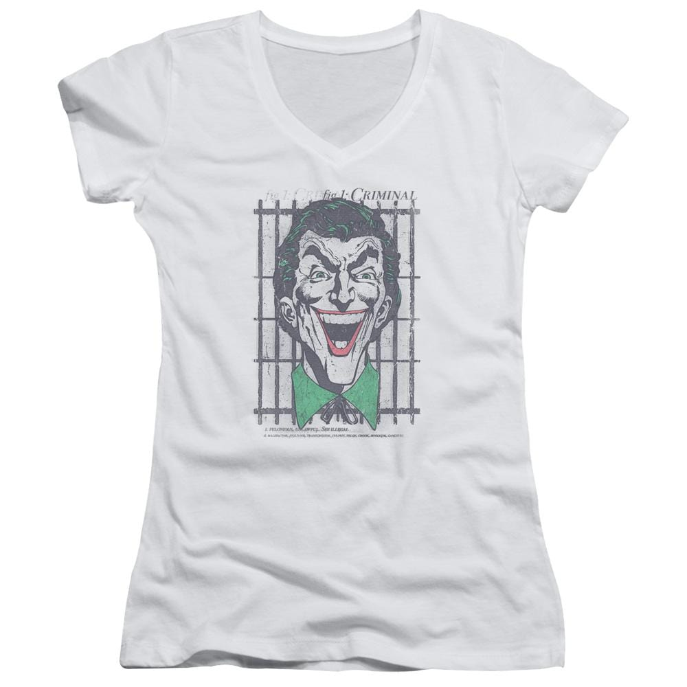 Dc Criminal Junior V-Neck T-Shirt