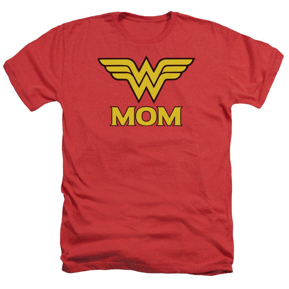 DC Comics - Wonder Mom Adult Regular Fit Heather T-Shirt