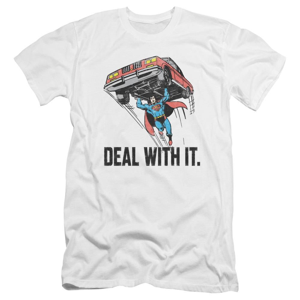 Dco Deal With It Premium Adult Slim Fit T-Shirt