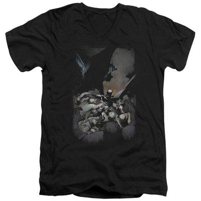 Batman Batman #1 Men's V-Neck T-Shirt