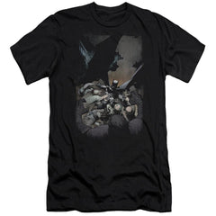 Batman Batman #1 Premium Adult Slim Fit T-Shirt