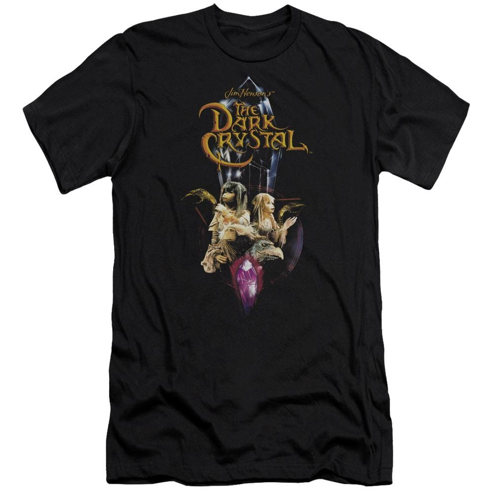 Dark Crystal Crystal Quest Premium Adult Slim Fit T-Shirt
