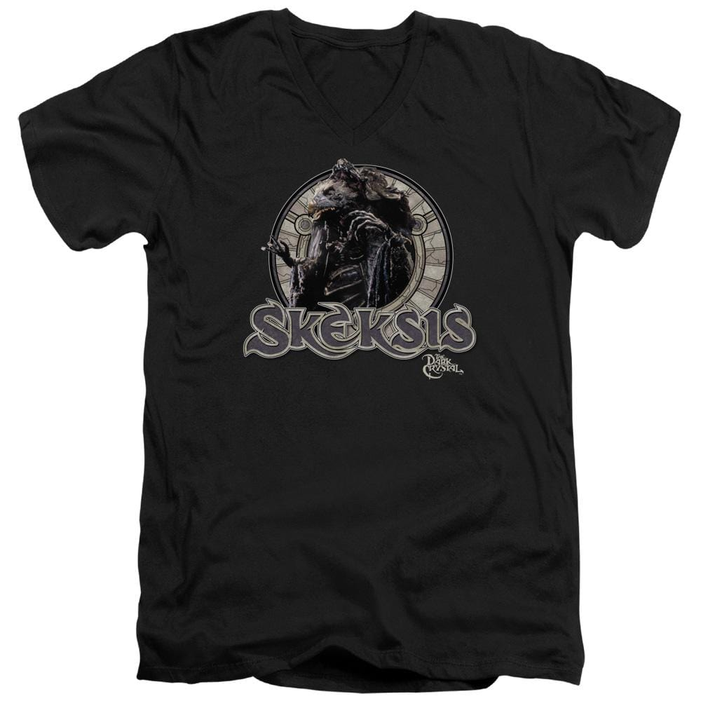 Dark Crystal - Skeksis Adult V-Neck T-Shirt