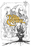 Dark Crystal Poster Lines Youth T-Shirt (Ages 8-12)