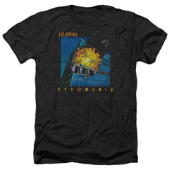 Def Leppard Pyromania Adult Regular Fit Heather T-Shirt