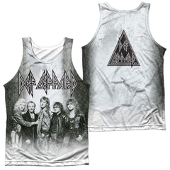 Def Leppard The Band Adult Tank Top