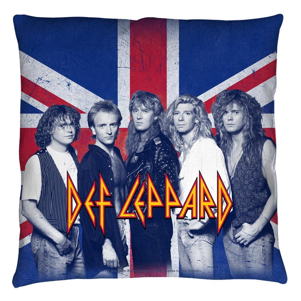 Def Leppard - The Boys Throw Pillow