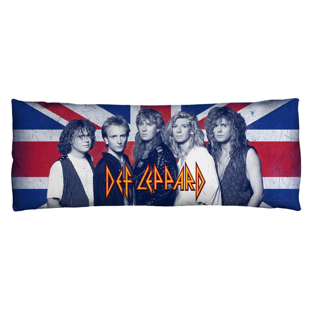 Def Leppard - The Boys Body Pillow