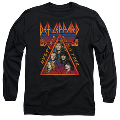 Def Leppard Hysteria Tour Adult Long Sleeve T-Shirt
