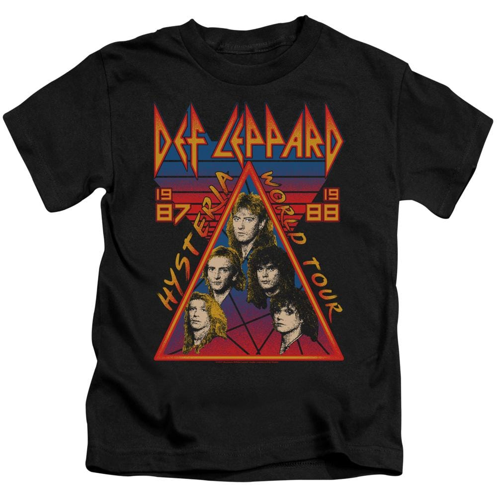 Def Leppard Hysteria Tour Kids T-Shirt (Ages 4-7)