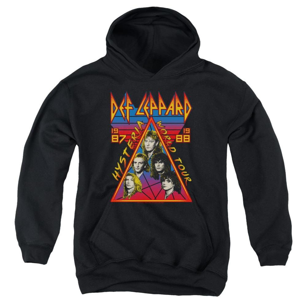 Def Leppard Hysteria Tour Youth Hoodie (Ages 8-12)