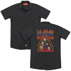 Def Leppard Hysteria Tour Adult Work Shirt