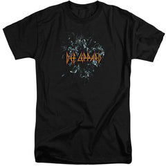 Def Leppard Broken Glass Adult Tall Fit T-Shirt