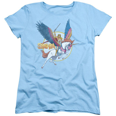 She Ra  And Swiftwind Women's T-Shirt