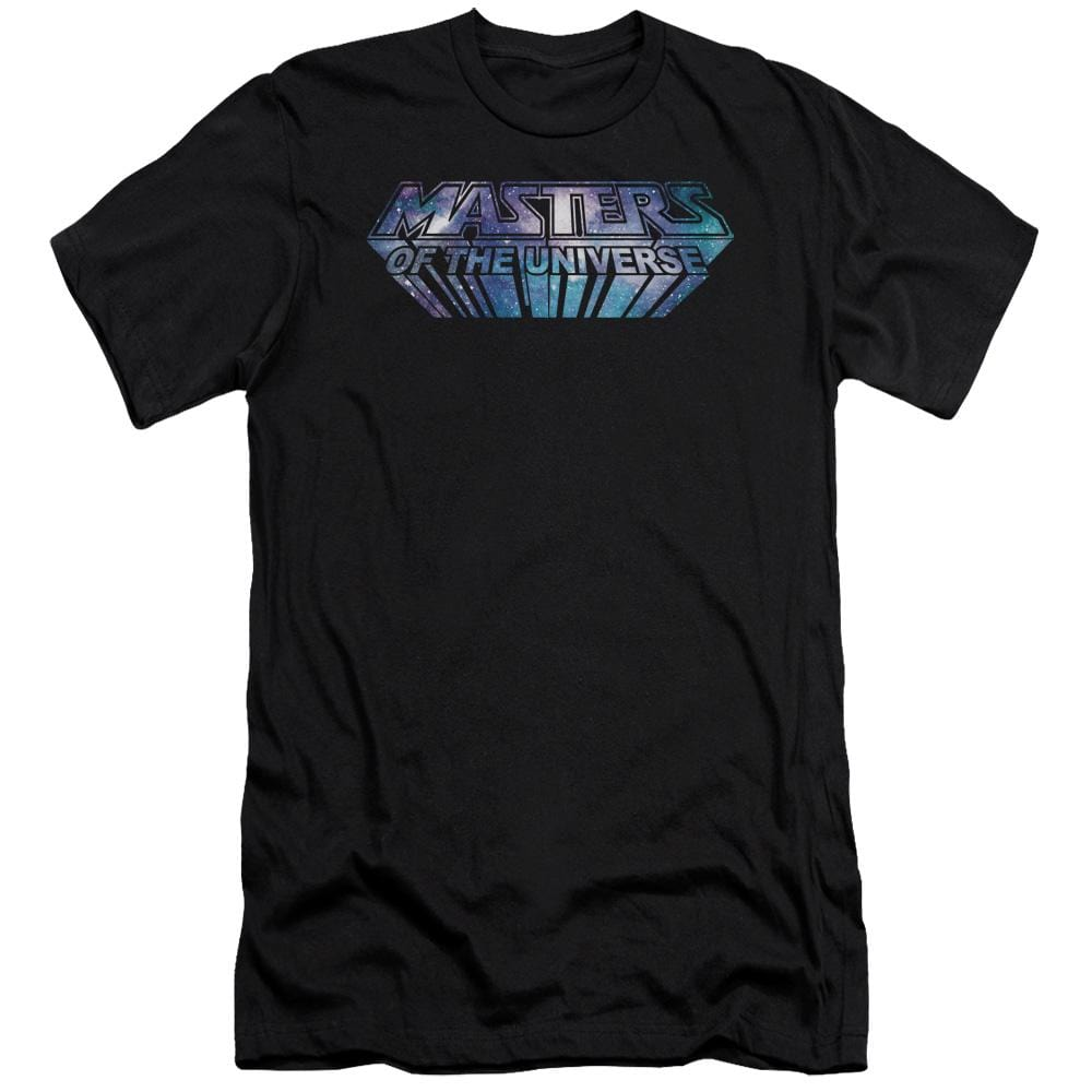 Masters Of The Universe Space Logo Premium Adult Slim Fit T-Shirt